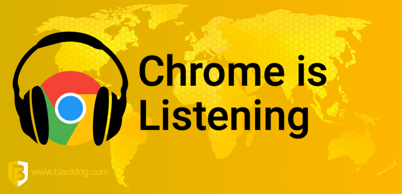 Chrome Listening with Microphone