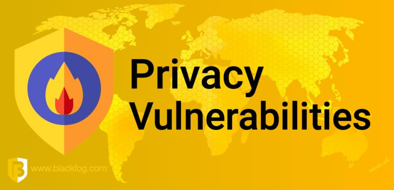 Privacy Vulnerabilities