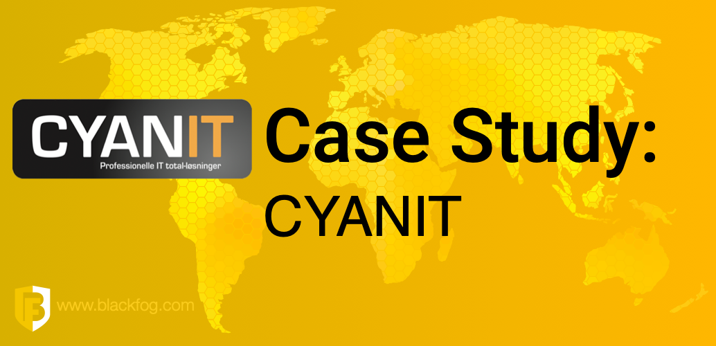 CYANIT secure clients mobile workforce with BlackFog