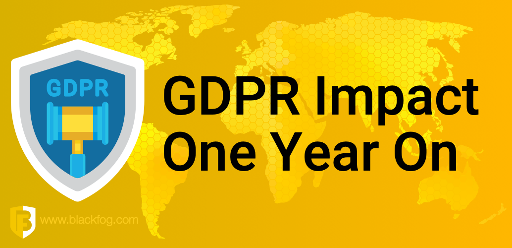 GDPR impact on privacy one year on