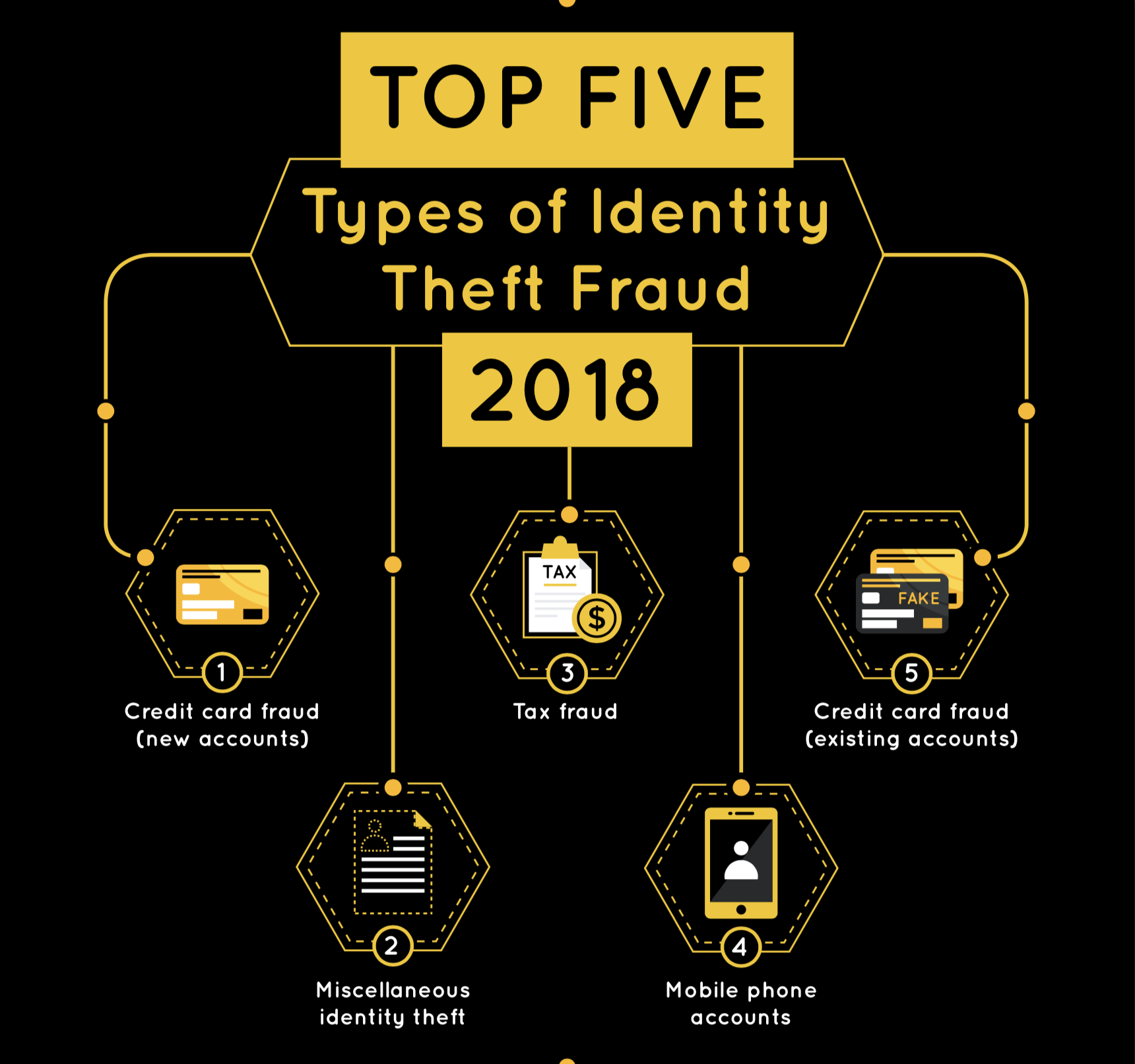 Top 5 Types of Identity Fraud
