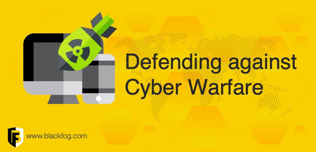 Defending against cyber warfare using data exfiltration