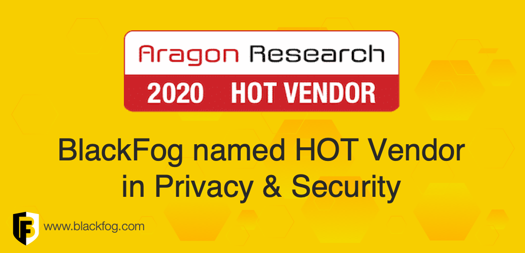 BlackFog Hot Vendor Award 2020