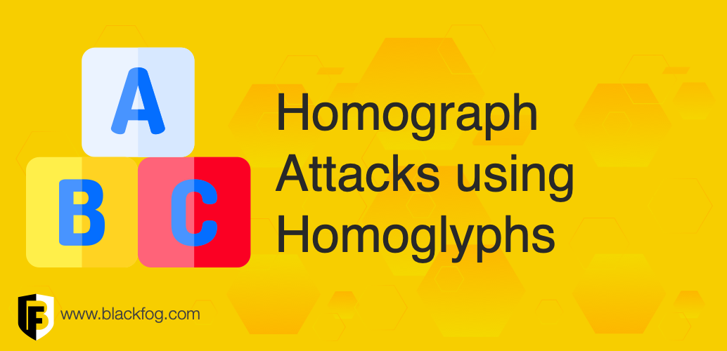 Homograph Attacks using Homoglyphs